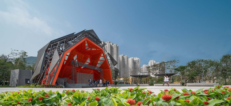 District Cultural Square / ArchSD, main stage. Image © Image 28