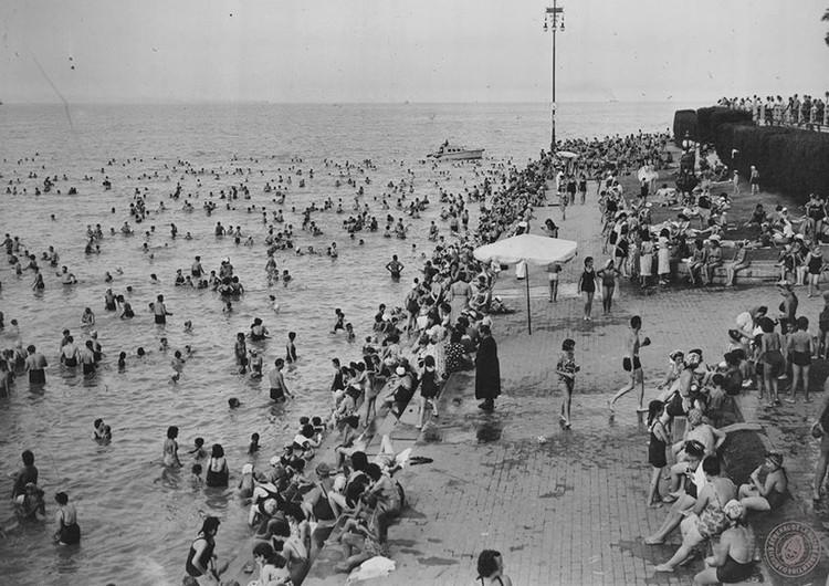 Los proyectos urbanos que buscaron vincular a Buenos Aires con su río,  1949 El espigón del Balneario Municipal de Buenos Aires