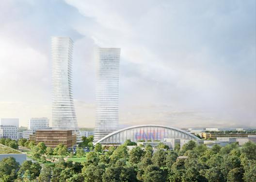 Herzog & de Meuron Propose New Urban Plan for the West of Munich