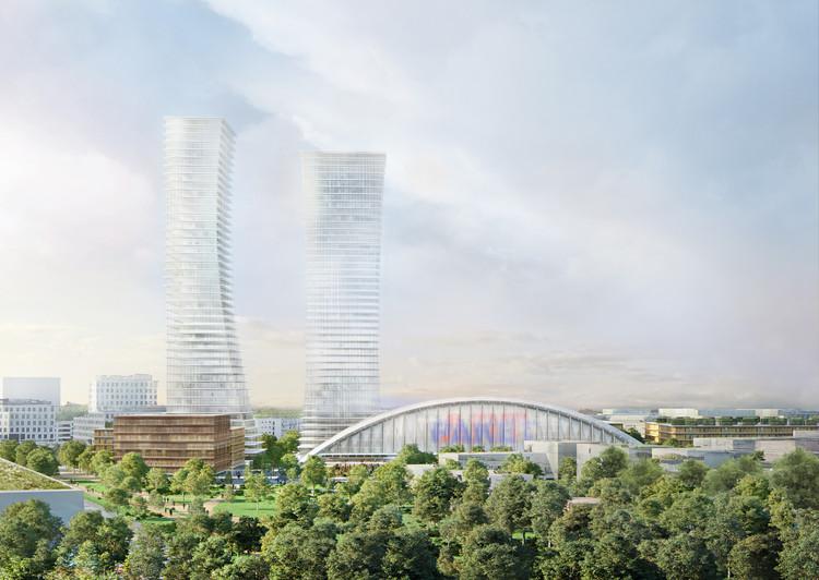 Herzog & de Meuron propõe novo plano urbano para Munique, © Herzog & de Meuron