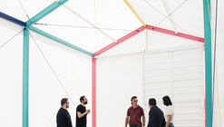 Colored Pavilion / Martín Peláez