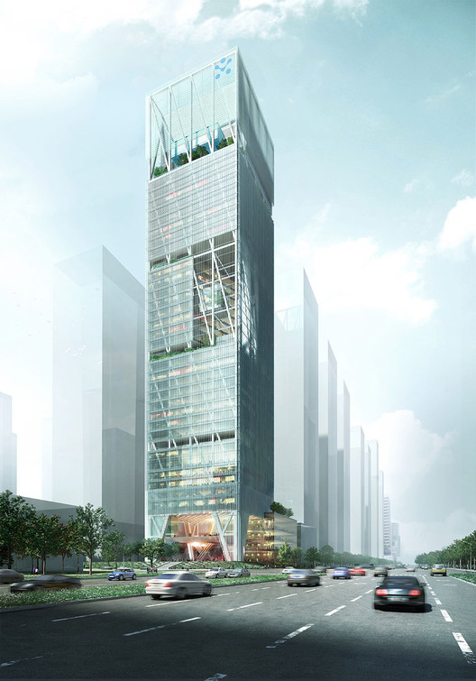 bKL Designs Expressive UBTECH Headquarters in Shenzhen, © bKL Architecture LLC