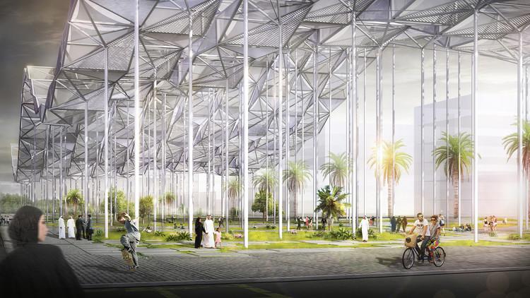SURGE: um hub urbano que combina tecnologia, sustentabilidade e tradição, Cortesia de Mingfei Sun