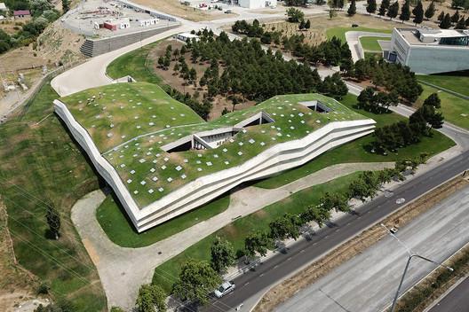 Coffee Production Plant. Image Courtesy of Khmaladze Architects