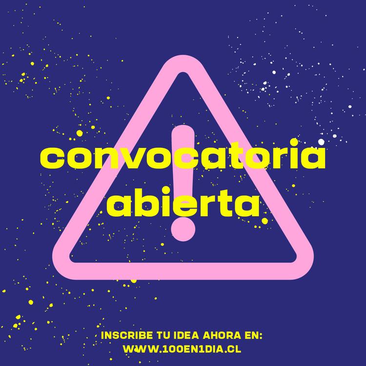 Festival 100 en 1 día abre convocatoria de intervención urbana en Santiago, Cortesía de 100 en 1 día