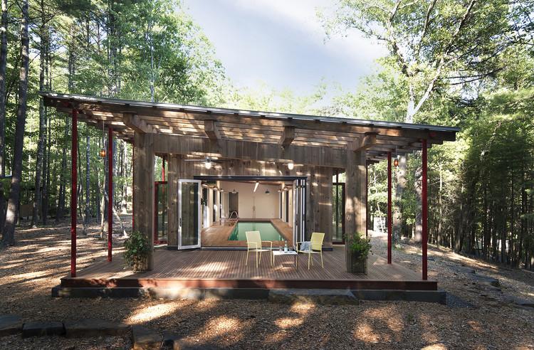 Woodstock Poolhouse / North River Architecture & Planning, © Deborah DeGraffenreid