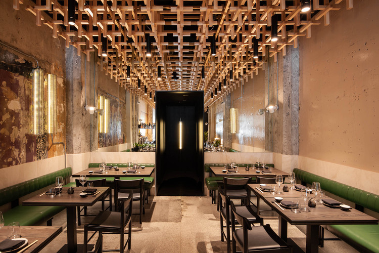 Ryu Peel Restaurant Menard Dworkind Architecture Design Archdaily