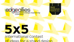 "Open Call for ""5x5. International Contest of Idea for Edgeallies' stand"" at WAF19"
