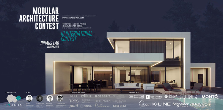 "III INTERNATIONAL CONTEST ""inHAUS LAB – Design your modular house"", Casas inHAUS"