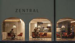 ZENTRAL Café Restaurant / Messner Architects