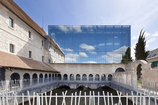 The Music School of Louviers – Opus 5 architectes. Image Courtesy of Luc Boegly