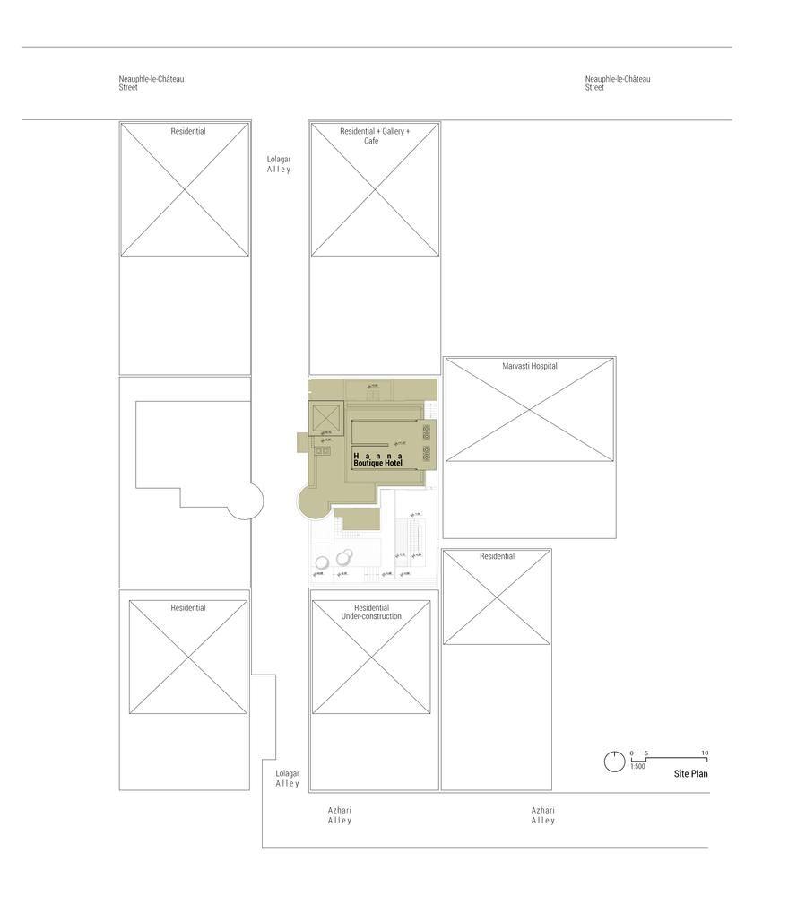Gallery of Hanna Boutique Hotel / Persian Garden Studio - 60