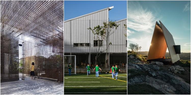 Anunciados os finalistas do Prêmio de Arquitetura Instituto Tomie Ohtake AkzoNobel 2019, Montagem feita com imagens dos finalistas
