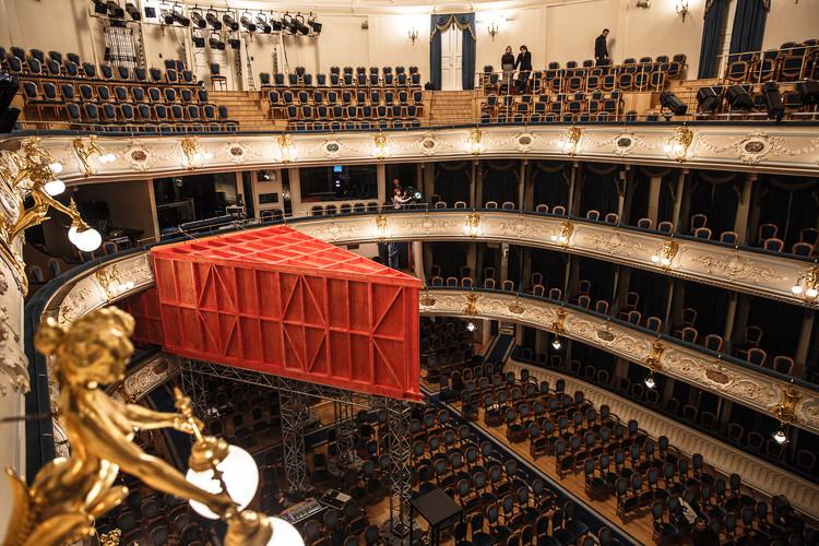 Teatro de madeira compensada / ARCHATTACKA / ARCHATTACKA, © Sergei Misenko; Victor Bergart
