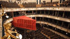 Teatro de madeira compensada / ARCHATTACKA / ARCHATTACKA