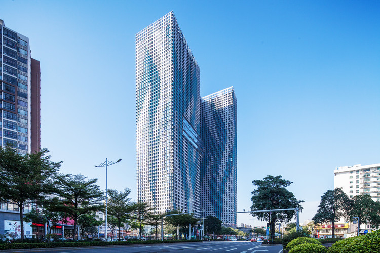 Foshan Zhaoyang O³ Building / Infinite Architects, © Guanhong Chen
