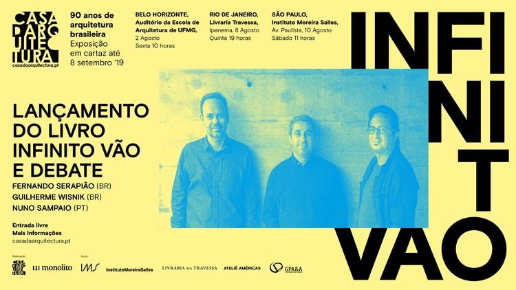 """Lançamento do livro """"Infinito Vão"""" no Rio de Janeiro e São Paulo"""