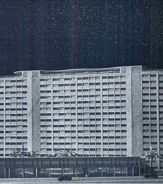 Experiência pioneira de moradias econômicas na área central: Edifício Japurá, REVISTA ACRÓPOLE. Apartamentos para Industriários. São Paulo, n°119, 1948.. Image Cortesia de PC3 - Pensamento Crítico e Cidade Contemporânea