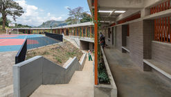 Institución educativa Miguel Valencia / Plan:b arquitectos