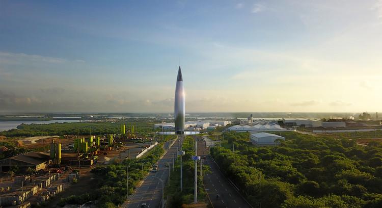 Monumento al Río de Ricardo De Castro gana premio Bronce en el A' Design Award, Cortesía de Ricardo de Castro