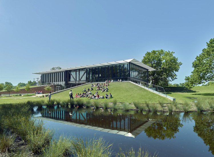 Jacksonport State Park Visitor Center / Polk Stanley Wilcox Architects, © Timothy Hursley