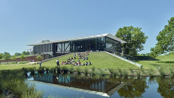 Jacksonport State Park Visitor Center / Polk Stanley Wilcox Architects