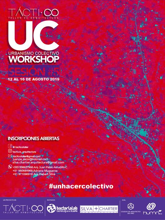 Tactico presenta UC, workshop de urbanismo colectivo en Cuenca, Arq. Juan Pablo Astudillo