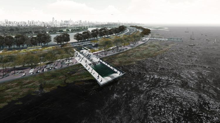 Conoce el proyecto ganador del Concurso Buenos Aires y el Río, Parque Costanera Norte, Cortesía de MARANTZ arquitectos