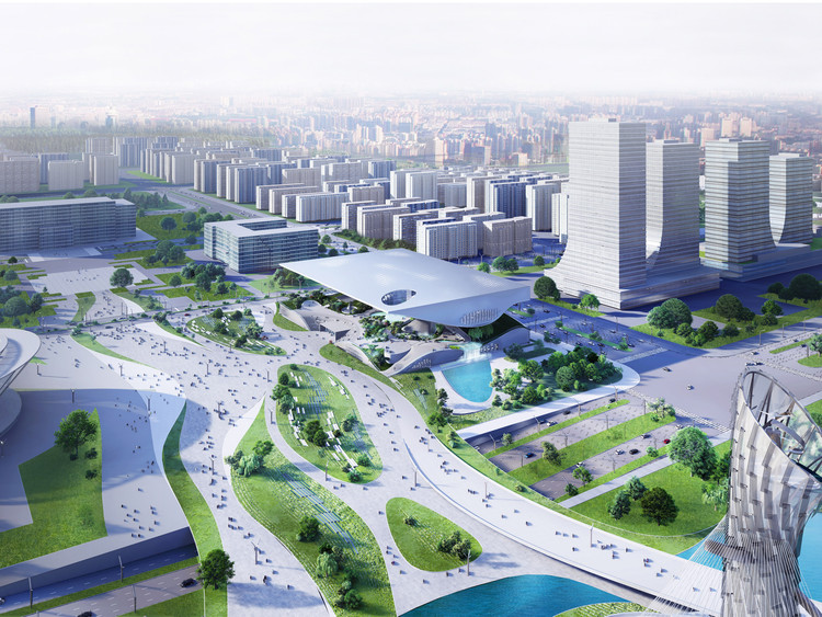 Coop Himmelb(l)au's Winning Proposal for The Xingtai Science And Technology Museum, Courtesy of Coop Himmelb(l)au