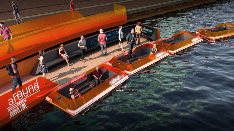 The World's First Dynamic Bridge and Autonomous Boats in Amsterdam, Courtesy of the Massachusetts Institute of Technology and the Amsterdam Institute for Advanced Metropolitan Solutions
