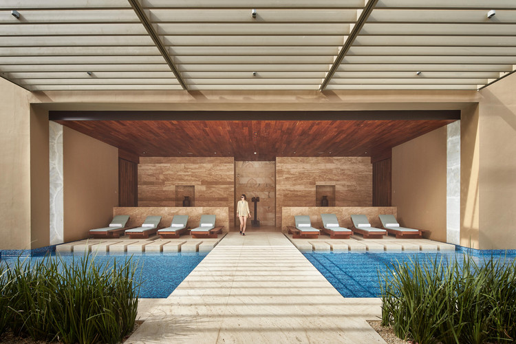 Resort e SPA JW Marriot Los Cabos  / Olson Kundig, © Benjamin Benschneider