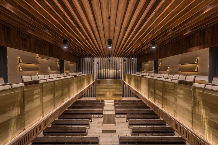 Templo Magen David / Cherem Arquitectos, © Jaime Navarro