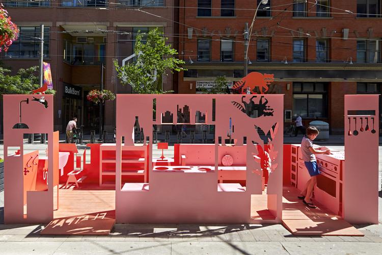 Flatpark Installation  / Public City Architecture, © Ben Rahn/A-Frame