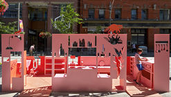 Flatpark Installation  / Public City Architecture