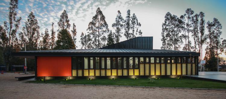Escuela Rural de Melirrehue / GVAA + BVA, Cortesía de GVAA