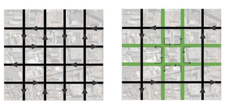 'Supermanzanas' como nuevo modelo urbano, por Salvador Rueda, Cortesía de CityMakers