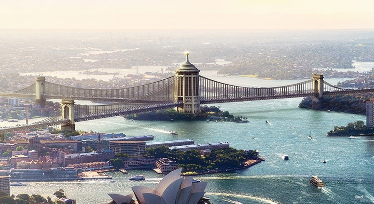 What Sydney Harbour Bridge Could Have Looked Like, Courtesy of NeoMam Studios