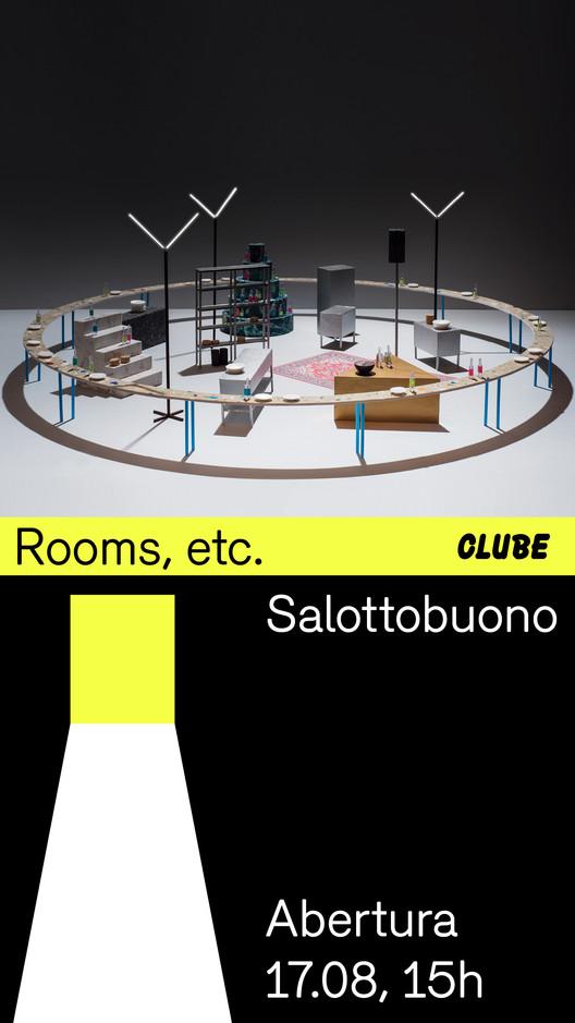 Abertura: Rooms, etc., Divulgação - CLUBE
