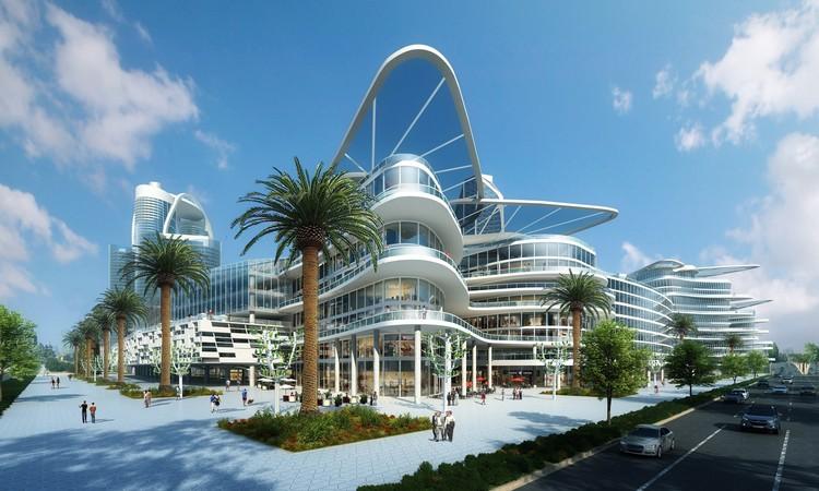 Primeira mini smart city do mundo será construída em Las Vegas, Bleutech Park Las Vegas. Cortesia de Bleutech Park Properties
