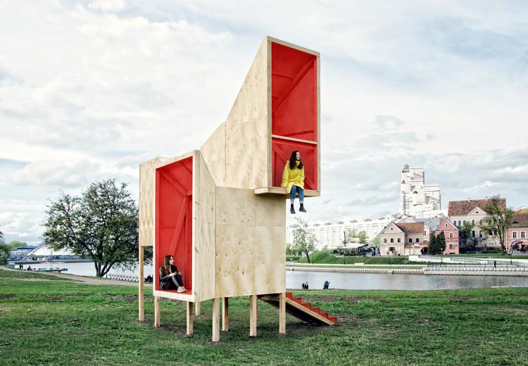 Frame Pavilion / Menthol Architects, © Anush Aleksanyan, Edvard Budnikov, Rastsislau Piakhouski