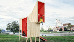 Frame Pavilion / Menthol Architects