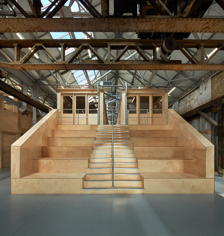 The Forge Offices and Exhibition Space / Emrys Architects, © Alan Williams