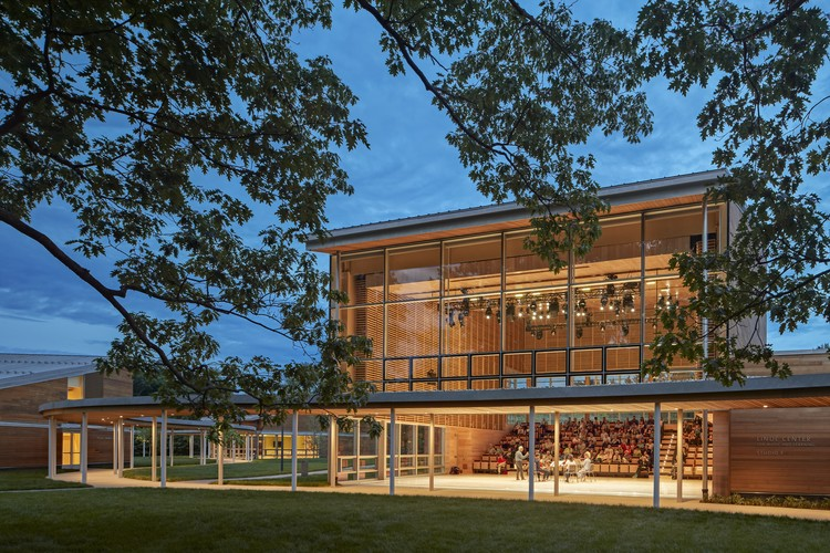 Boston Symphony Orchestra's Linde Center Opens at Tanglewood, © Robert Benson