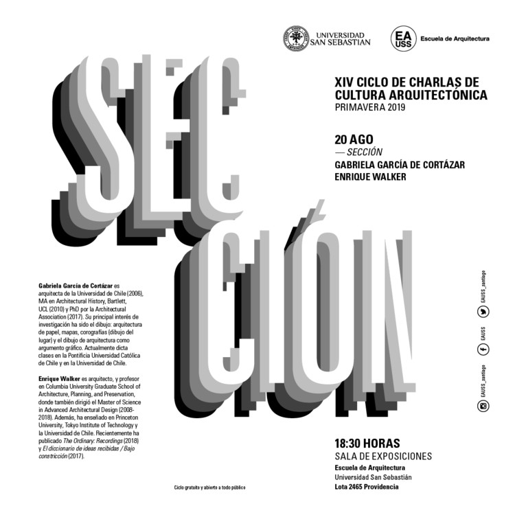 XIV Ciclo de Charlas de Cultura Arquitectónica [CCCA]