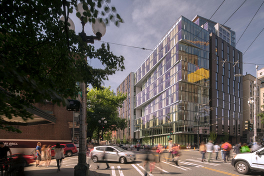 100 Stewart Hotel and Apartments / Olson Kundig