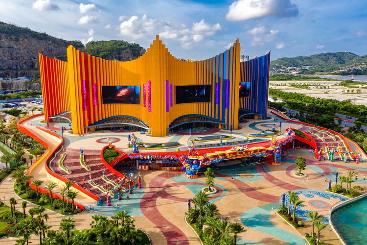 Stufish Entertainment Architects projeta teatro inspirado em circo na China, Cortesia de Chimelong Zhuhai