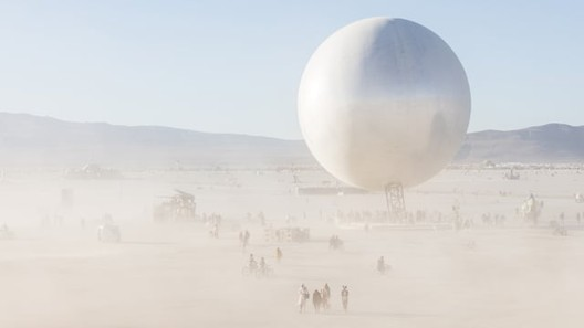 Burning Man's ORB Through the Animated Lens of Another :