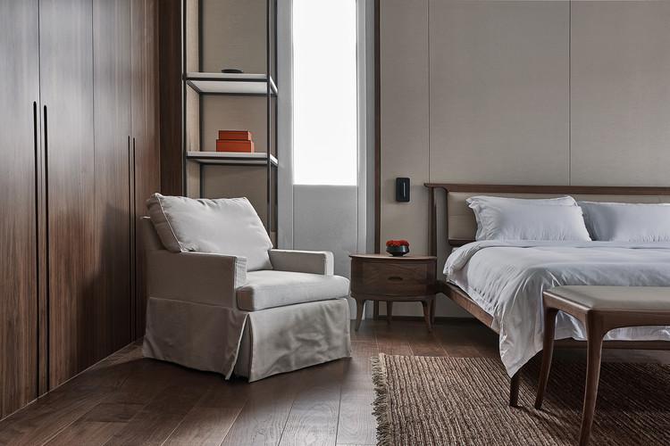 3F Master bedroom. Image © Yongchang Wu