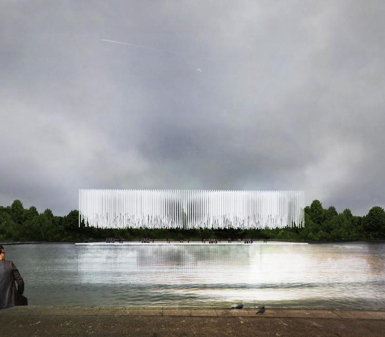 Estudiantes de Argentina ganan concurso de ideas para un pabellón en Hyde Park de Londres, Primer Lugar. Image Cortesía de Arquideas