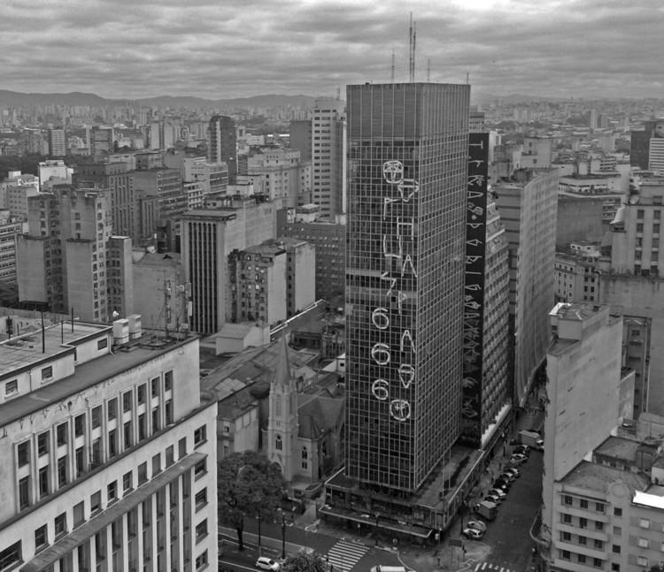 Edifício que pegou fogo em São Paulo será tema de documentário, Edifício Wilton Paes de Almeida. Image © Larissa França Peres via Arquigrafia Licença CC BY 3.0. Image